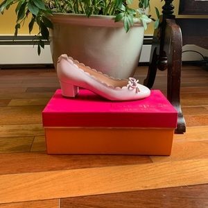 Pink Leather Kate Spade Shoes  - Matching Purse Av